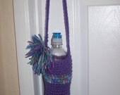 Crocheted Water Bottle Sweater