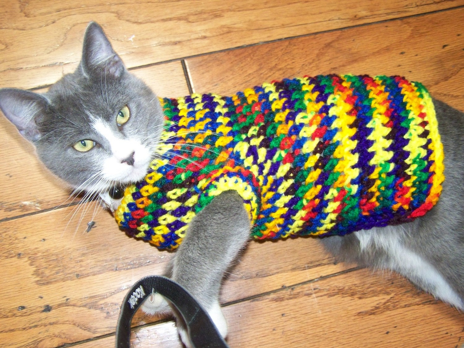 Crocheted Sweater For Small Dog Puppy Or Cat