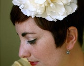 Faye - Flowered Headband - Handmade