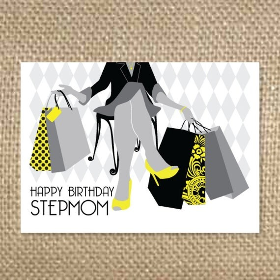 Items Similar To Happy Birthday Stepmom On Etsy
