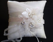 Silk Dupioni Ring Bearer Pillow - Chloe