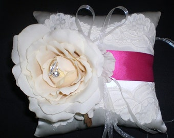Ring Bearer Pillow - French Bouquet