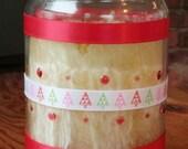 Christmas Tree - - Peppermint Vanilla Palm Wax Jar Candle