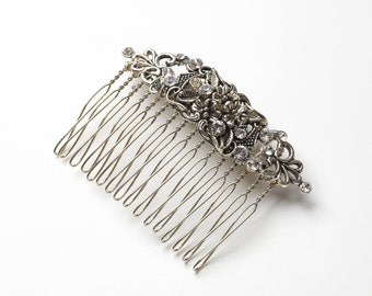 Vintage style Bridal hair Comb