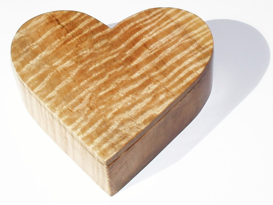 wooden heart shaped wooden jewelry box pdf plans