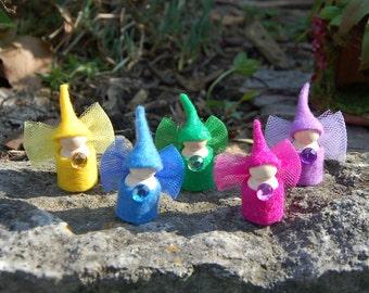 Wee Little Woodland Pocket Fairies (Set of 5)