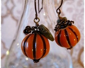 Pumpkin Patch Stoneware earrings