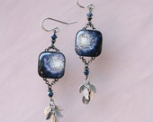 Galaxy Earrings (square)