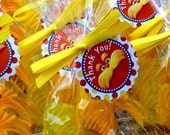 Dr. Seuss Lorax Favor Tag Thank You Sticker Party Printable - Stick to Your Story