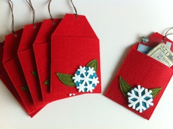 Items similar to featured in better homes and gardens for Christmas card holder craft project