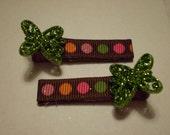 Green Glitter-fly...
