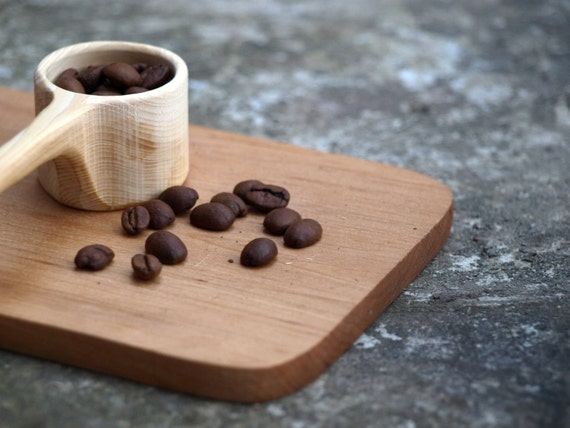 FREE SHIPPING  - Little morning coffee scoop