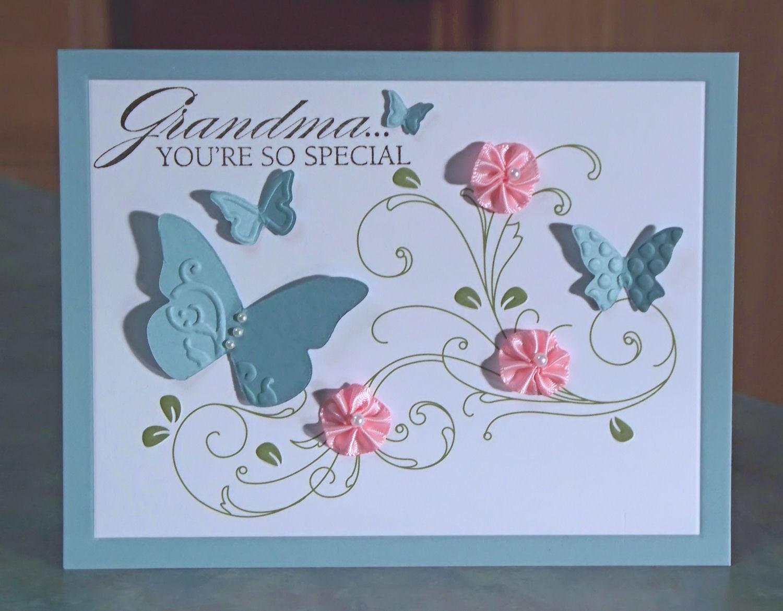 Homemade Birthday Cards For Grandma ~ Grandma birthday occasion card you re so special