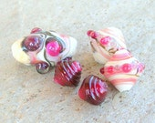 Rubino Lampwork Beads Summer Colors July Trends - CandanImrak
