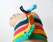 Colorful Ribbon Hair Ties for Girls, Women  Men, Elastic Hair Tie Bracelets, Children/Kids Hair Accessory