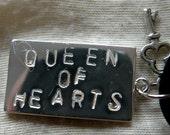 Alice in Wonderland QUEEN OF HEARTS Pendant
