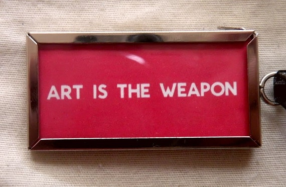 My Chemical Romance ART IS THE WEAPON Ornament