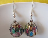 Caged Candy Earrings