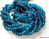 CLEARANCE - London Blue Mystic Quartz Faceted Rondelles - 1/4 Strand - Reg. 5.65