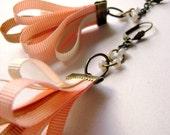Soft Mix Captivates me collection - soft colors unique shape trendy own design earrings