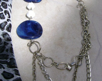 Pacific....   Asymmetrical necklace