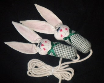 Bunny Rabbit Jumprope Kids Toy Easter Gift Birthday Present Gift for Kids Bunny Rabbit Toy