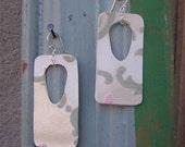 Winter Spring Flocked Earrings - SALE -