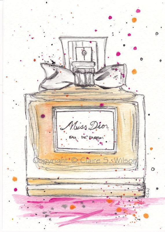 Miss Dior - Art Print 8x10