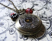 A Whole Lotta Love Pocket Watch Necklace