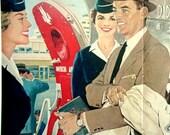 vintage 1958 american airlines advertisement travel