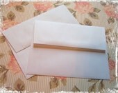 50 WHITE A2 ENVELOPES for Cardmakers, Greeting Cards