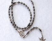 Custom Black Labradorite Rosary