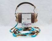 Vintage Headphones in Beach Front