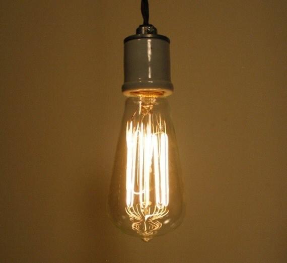 Edison Inspired Light Bulb Dimmable 60 Watts Pendant Chandelier Ceiling Lighting Fixtures