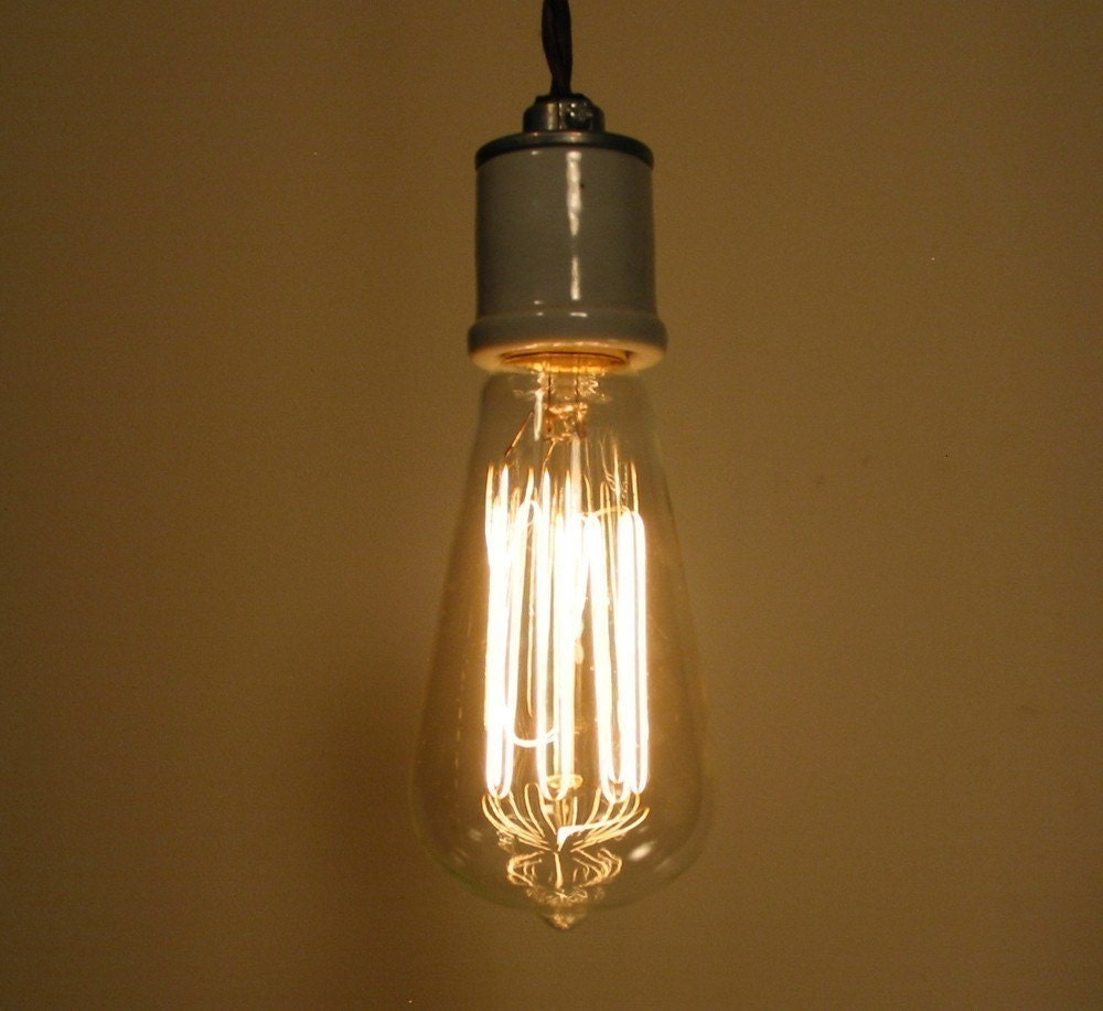 Antique Inspired Edison Filament Light Bulb By Lampgoods