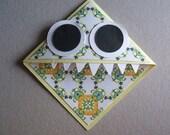 Corner Chomper Bookmark - Yellow