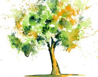 Joshua tree Print from my original watercolor painting 8x10 inch