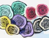 Flowers Earrings (custom)