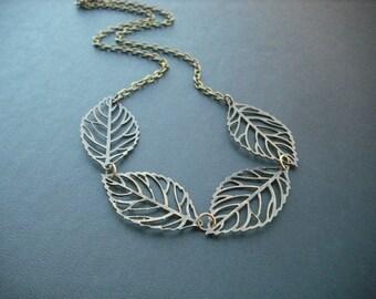 leafy heaven - antique brass