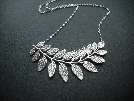 touch of life necklace - antique silver