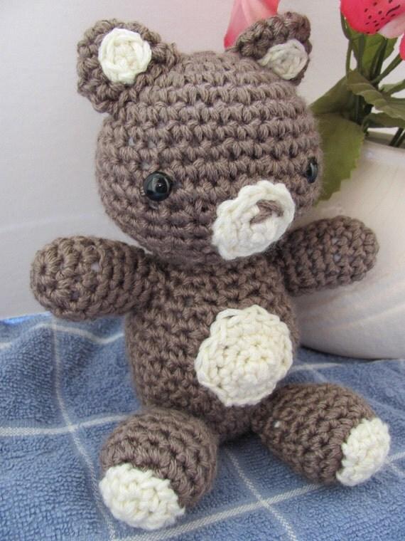 Amigurumi Teddy Bear Crochet Pattern by MevvSan on Etsy