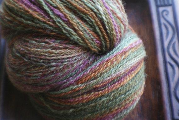 Nicholas - handspun BFL wool yarn - 495 yds.