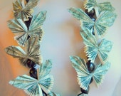 Custom Order Hawaiian Butterfly  Money Lei
