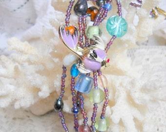 Sea Dreams Bracelet and Matching Pin, Time Raveler
