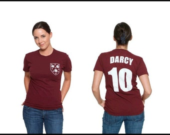 Mr. Darcy - Literary T-Shirt Jersey - Reader - Book Gift - Author Shirt - NOVEL-T - Pride and Prejudice