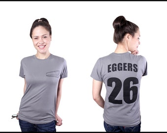 Dave Eggers Literary T-Shirt - A Heartbreaking Work Of Staggering Genius - Reader Book Gift - NOVEL-T - 826NYC - McSweeney's