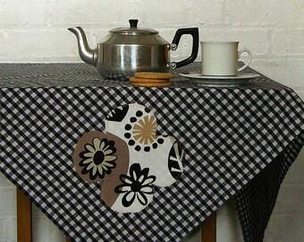 black betty gingham picnic tablecloth