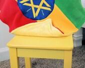 Ethiopian Flag Blanket