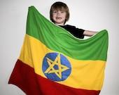 BIG- Ethiopian Flag Blanket