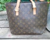 vintage LOUIS VUITTON wanna be book bag